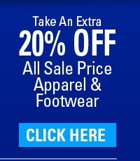 20% OFF All Sale Price Apparel and Footwear - (click) here for your coupon