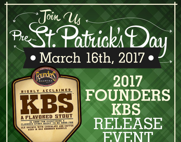 Michigan Made Six-Course Beer Dinner - March 29, 2017