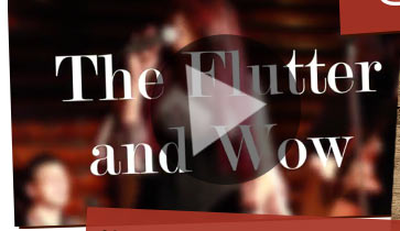 The Flutter and Wow Music Video
