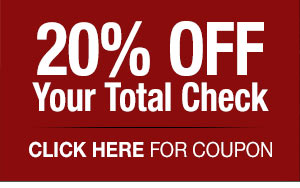 20%  OFF Your Total Check - (click) here for your coupon