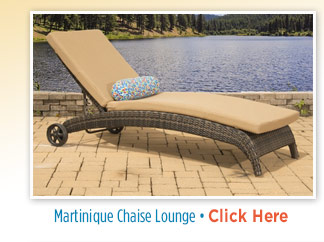 Martinique Adjustable Chaise Lounge: