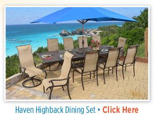 Haven Highback Dining Set